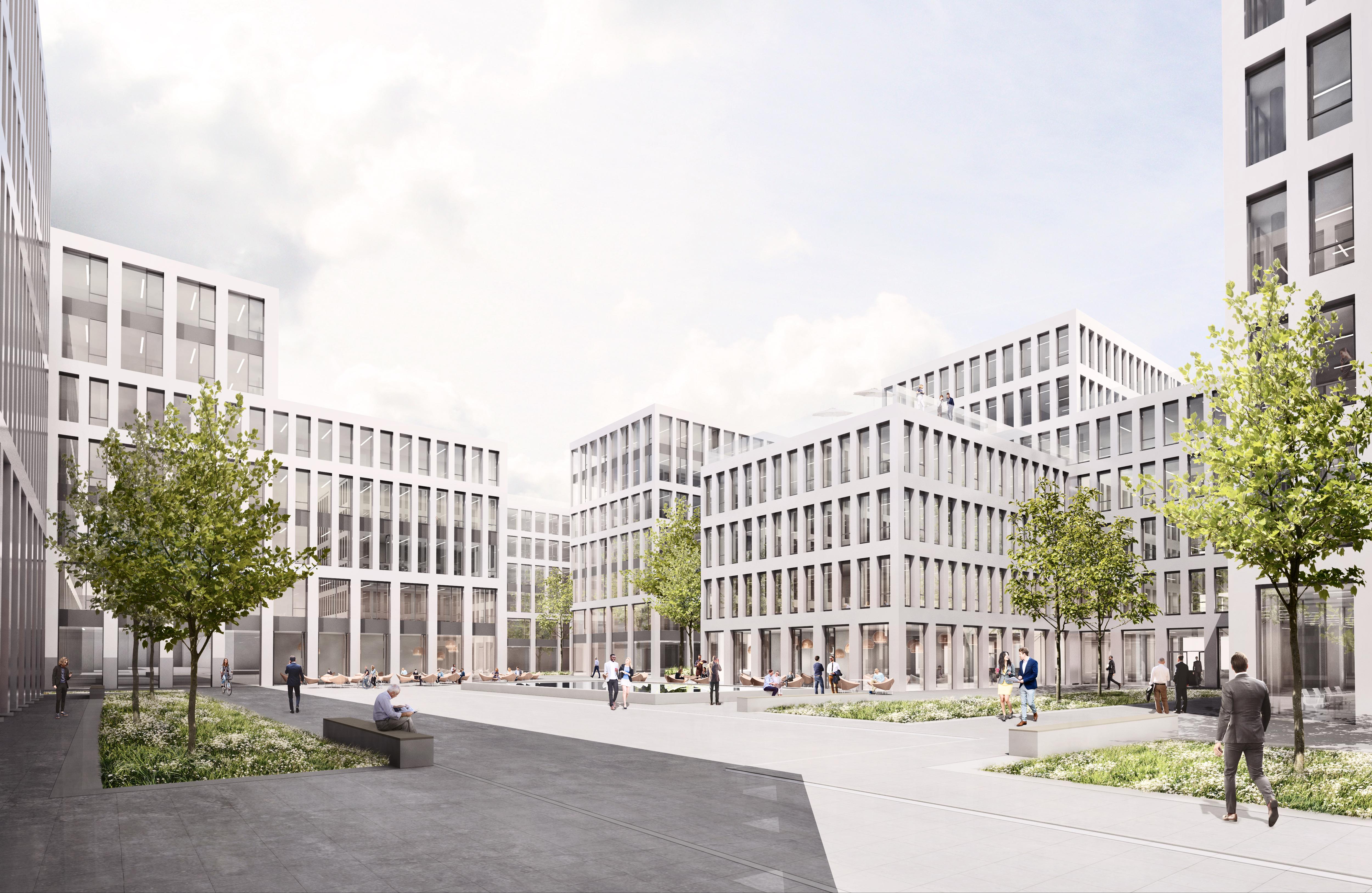 Köln: Neuer Büro-Campus für Braunsfeld