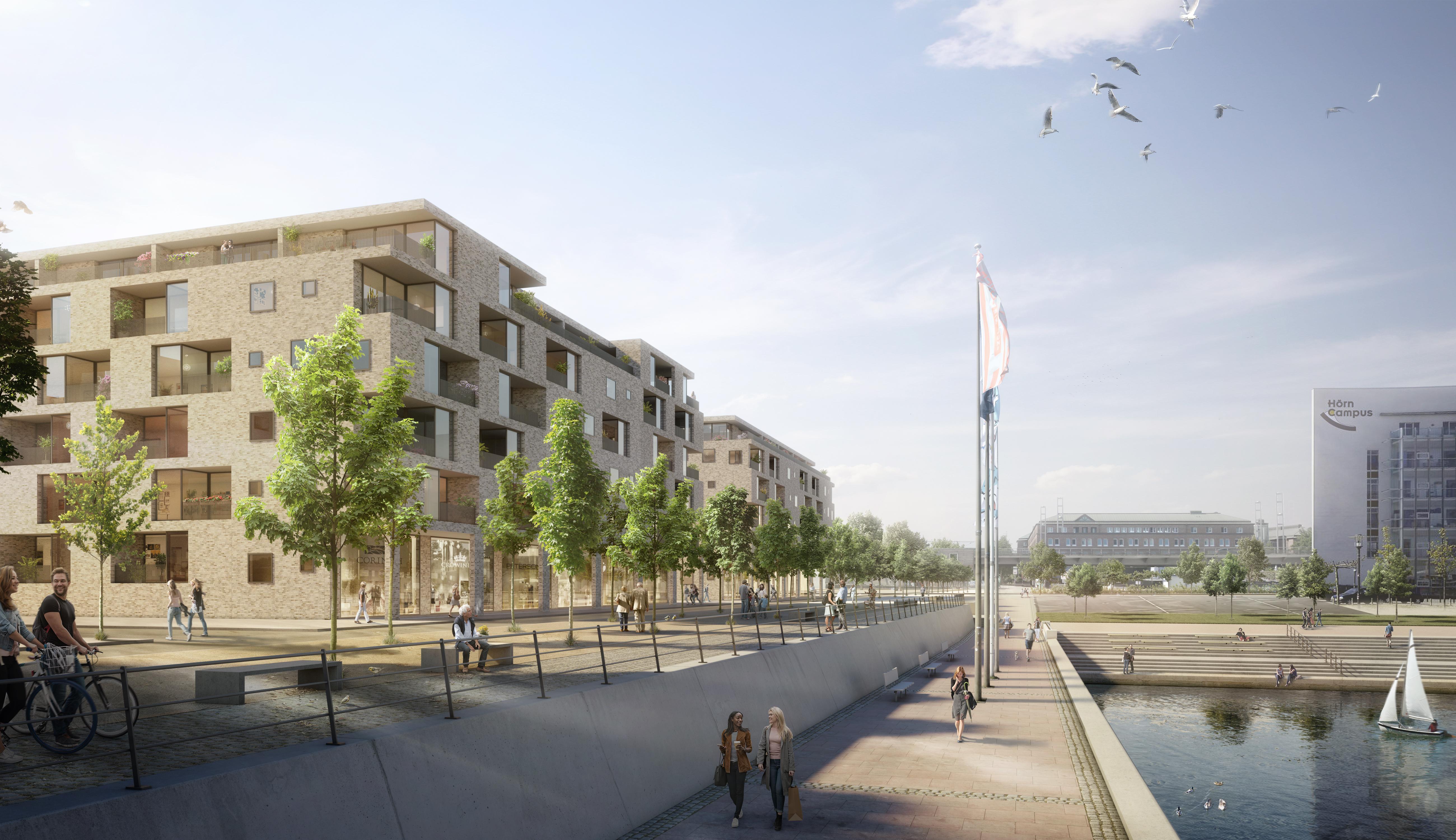 TAS kauft großes Wohnprojekt auf der Hörn