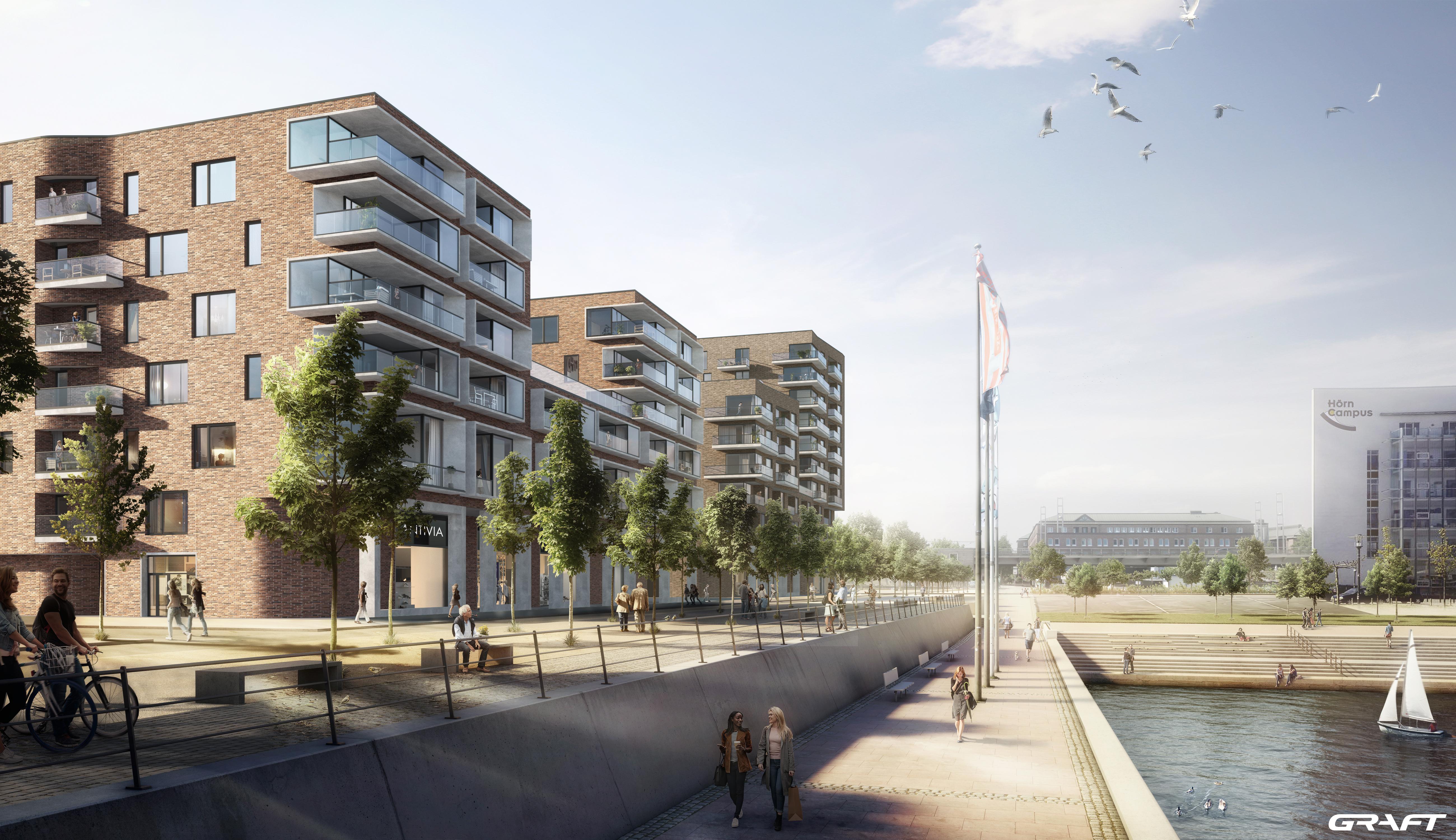 TAS-Unternehmensgruppe beginnt mit Bau von Wohnungen an der Hörn in Kiel
