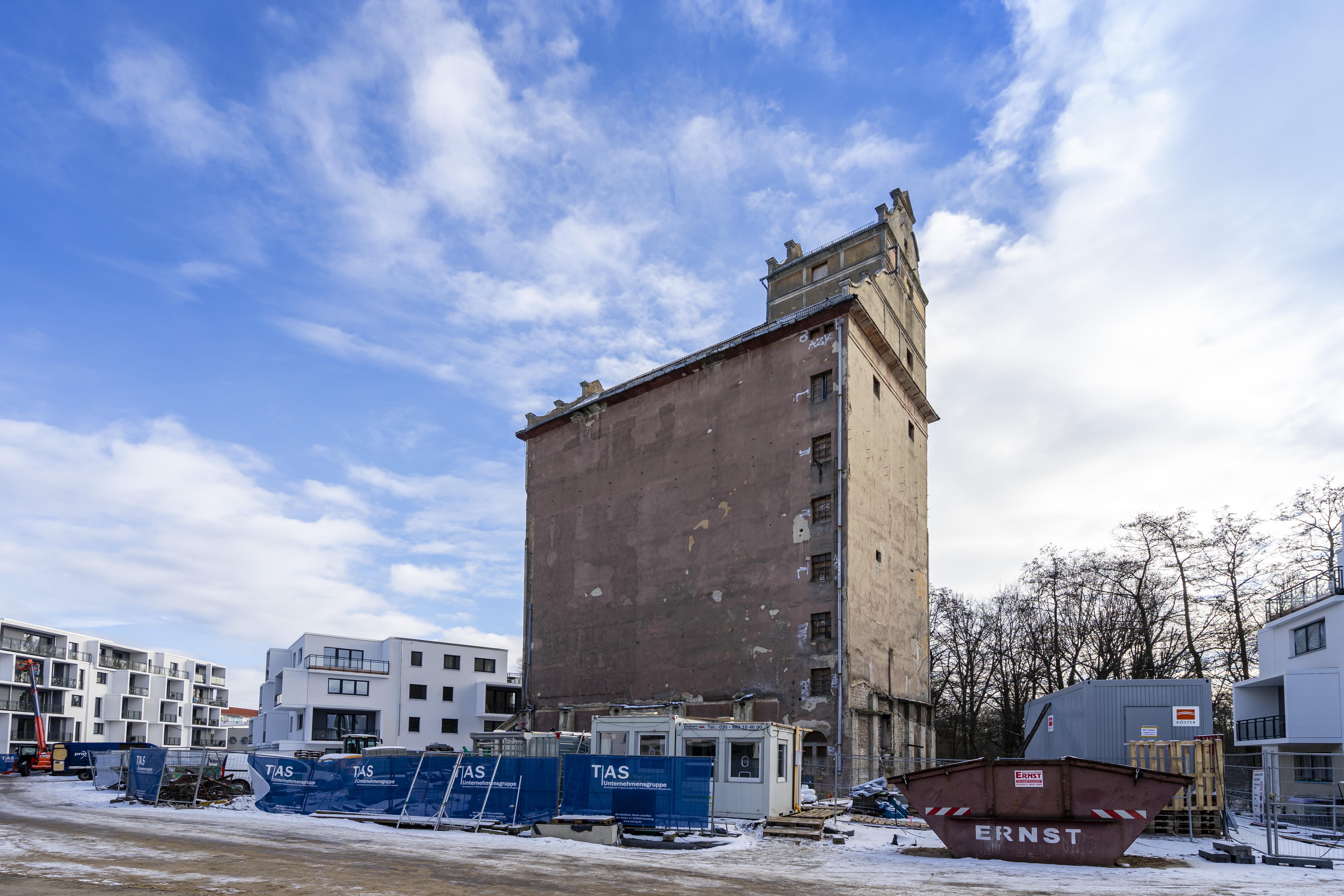 TAS Unternehmensgruppe verkauft den Alten  Getreidespeicher in Oranienburg an Reinvesta Immobilien GmbH