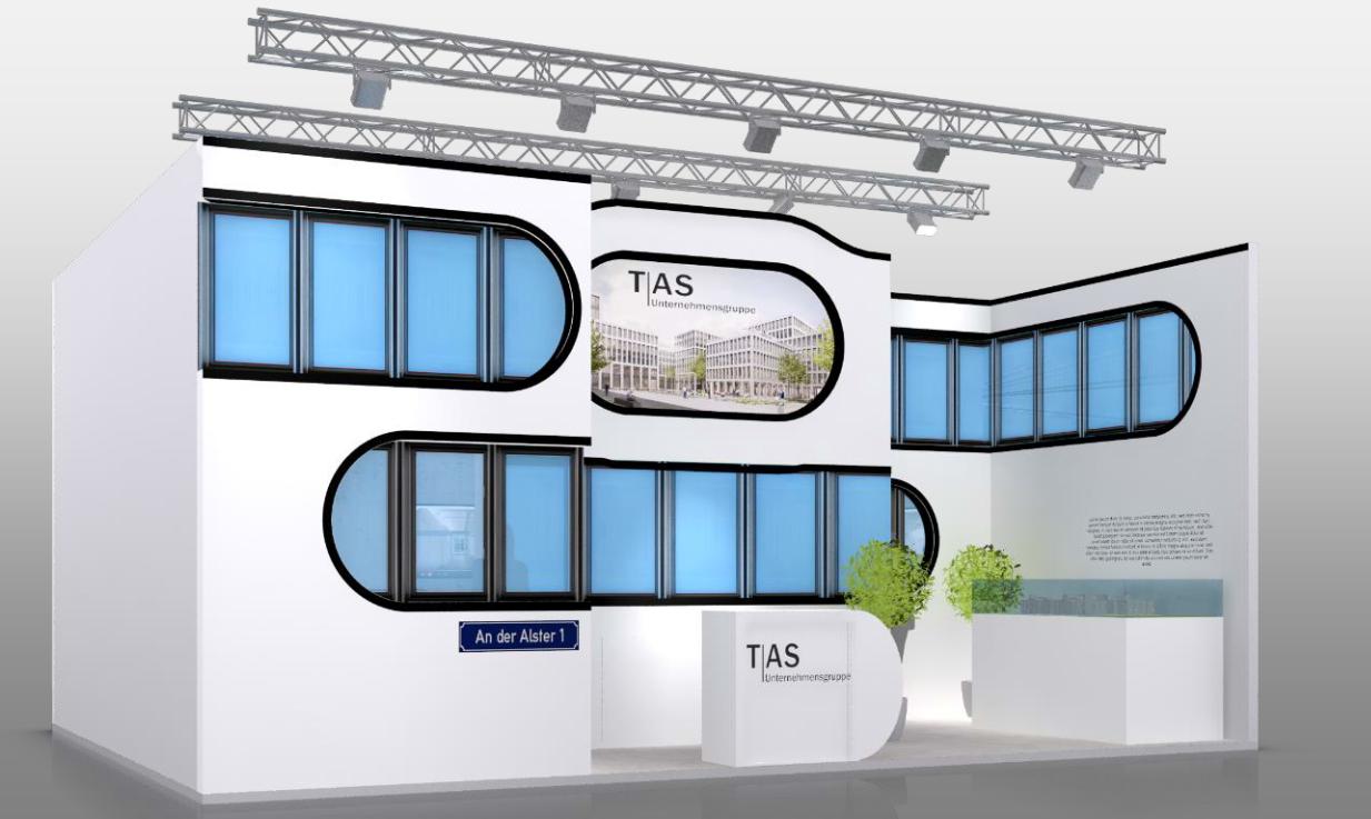 TAS erstmalig mit eigenem Stand auf der EXPO REAL vertreten